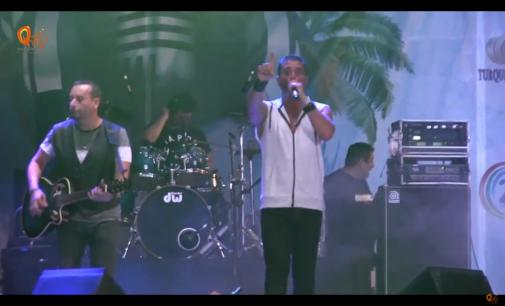 Elefante concierto en Cancún